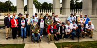 HF Greeting at WWII Memorial 9/26/15