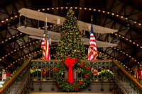 This tree is in Dahlgren Hall, also located at the United States Naval Academy.